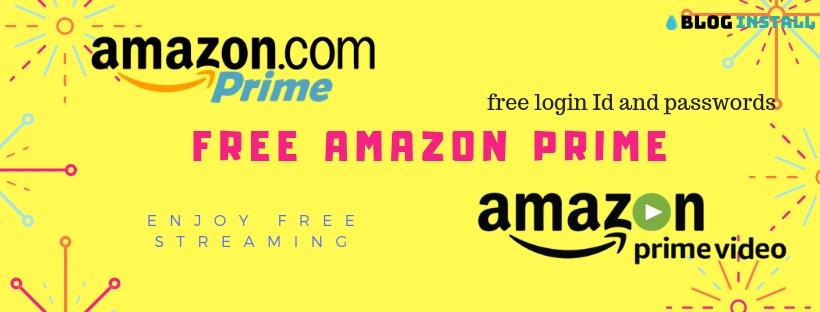 free amazon prime account cookies, username and passwords